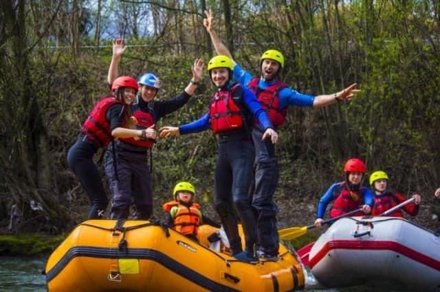Adventure Sudtirol usa l'Adige per far divertire grandi e piccoli! Nella belliss...