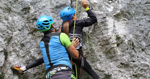 Climbing day in falesia - livello avanzato