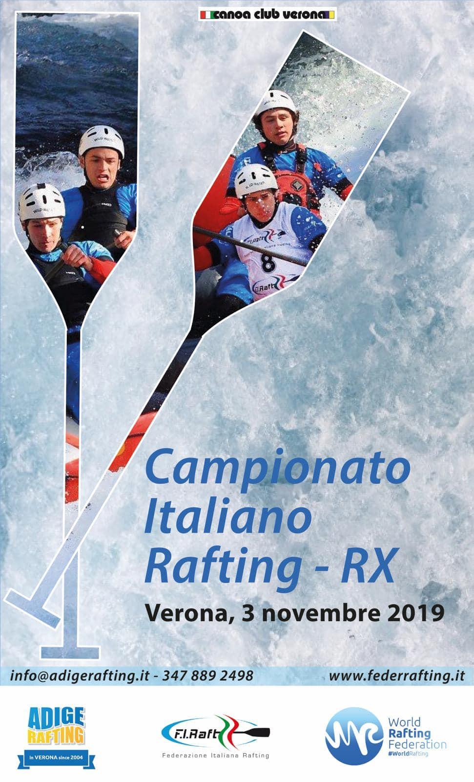 Verona 3 Novembre! Siete tutti invitati a Vedere lo Show del Rafting Agonistico...