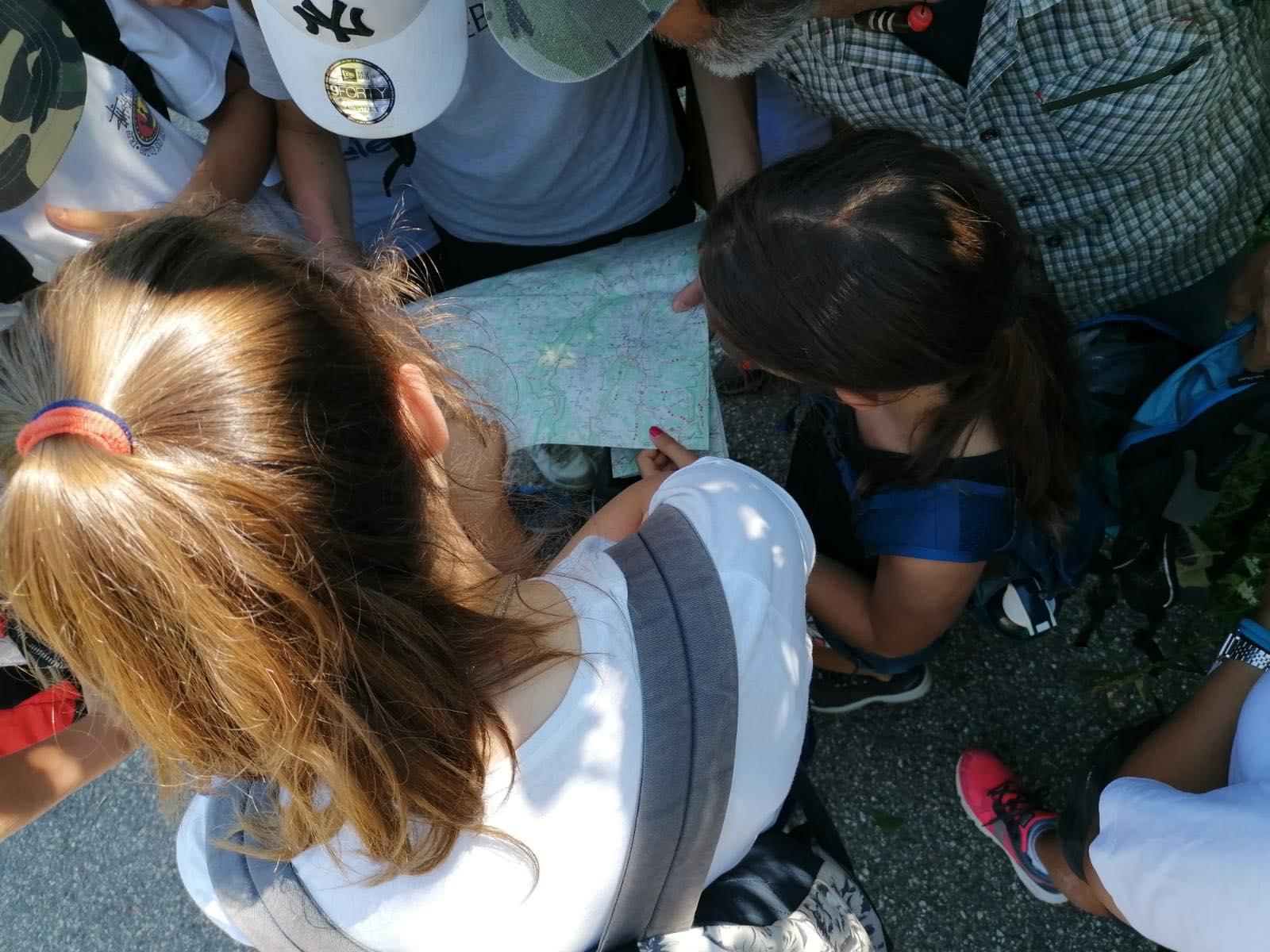 Orienteering today @ VisitValdadige Camp per Super Giovani! Le attivita prose...