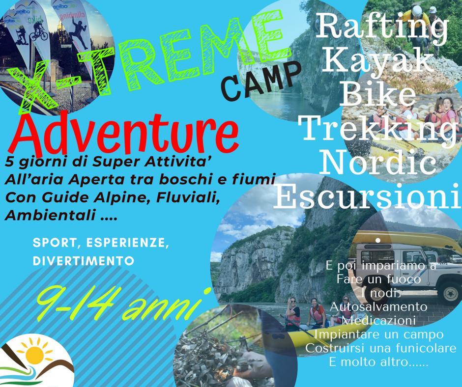 X Treme Adventure Ragazzi 9 14 anni Val dAdige