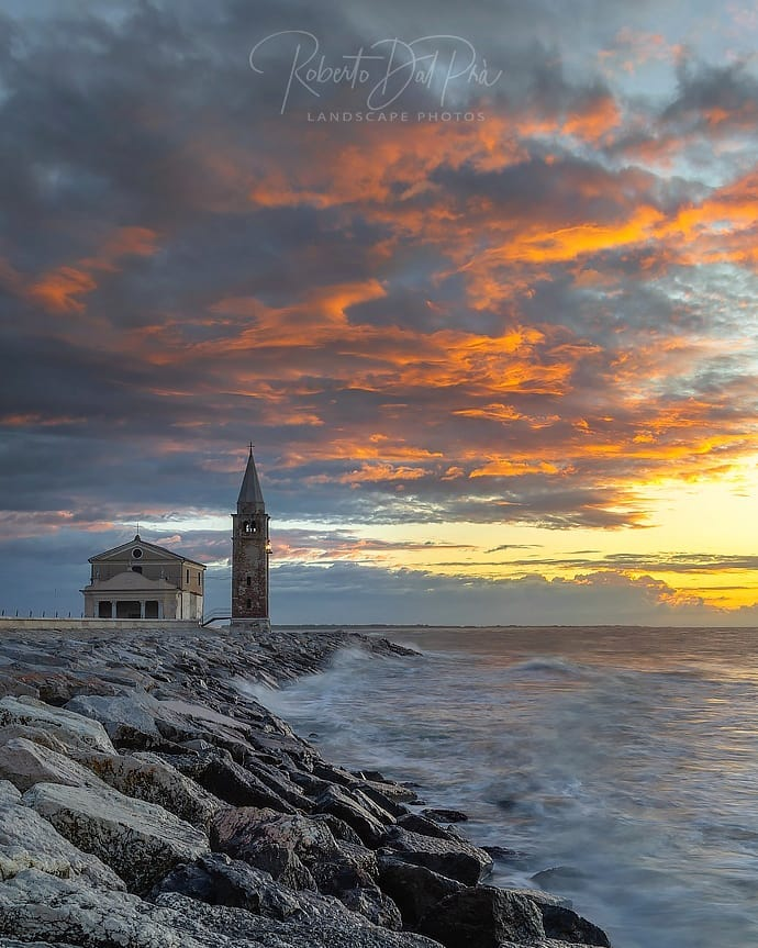 La Chiesa della Madonna dell'Angelo, l'edificio religioso più antico di Caorle, ...