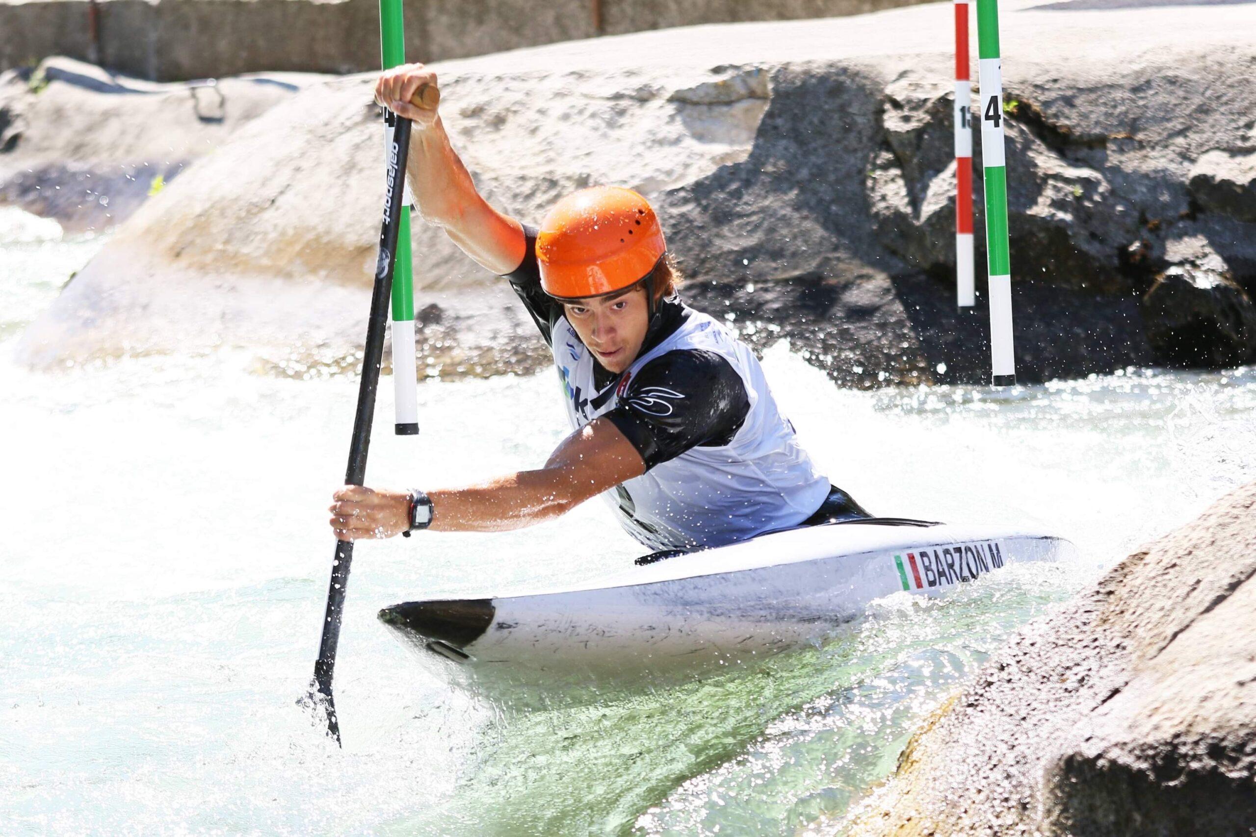 Canoe Slalom: gold in Slovenia for the Veronese Barzon