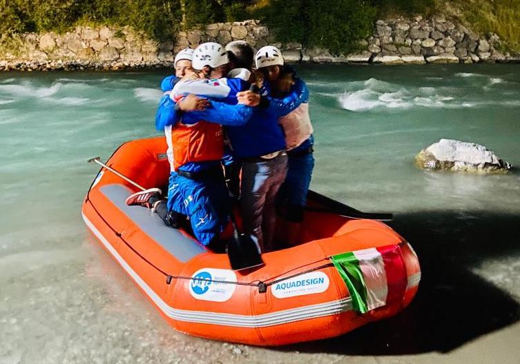 Italian Rafting Federation - Dominio Italia.  Extraordinary Fratton, Mastella, Zeno and Fabio Martini!