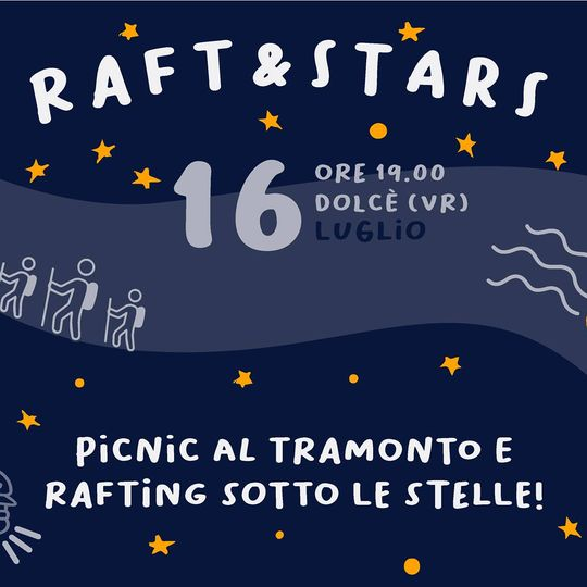 Picnic and Rafting under the stars!