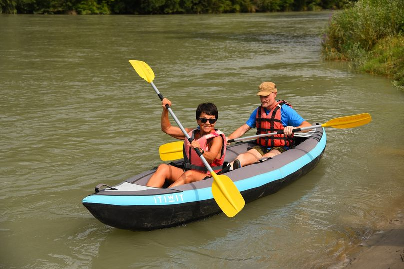 Treat yourself to a canoe descent on the Adige!  You will be joined by a guide who will ...